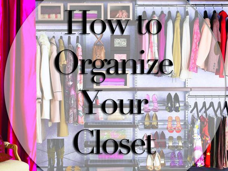How to Organize Your Wardrobe {Come organizzare il tuo Armadio}