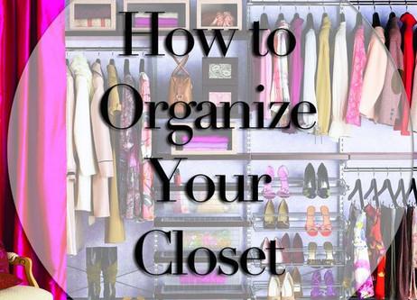 How to Organize Your Wardrobe {Come organizzare il tuo Armadio}