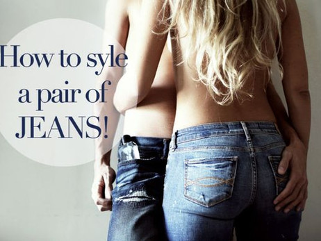 How To Style a Pair of Jeans {Come Indossare un Paio di Jeans}