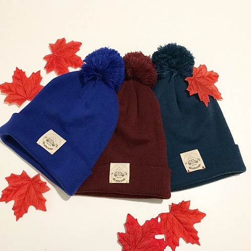 Craftevan winter hat. Available in 3 colours