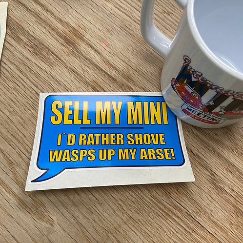 Sell My Mini Sticker