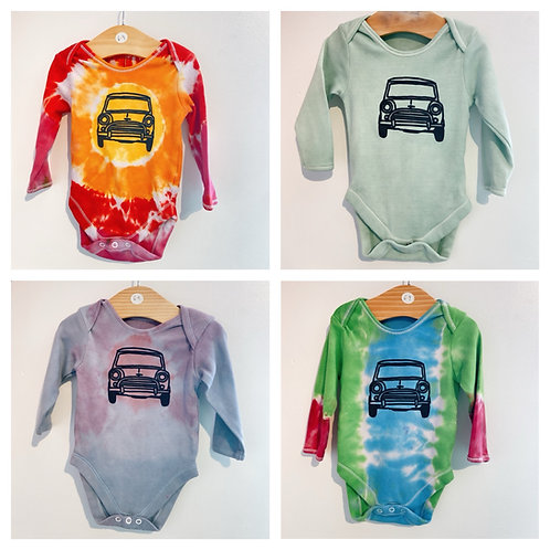 Tie dye Baby body suit 6-9 months