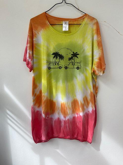 Tie dyeT-shirt unisex XXL
