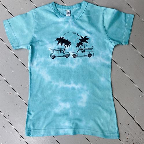 Tie dyed T-shirt womens fit Medium