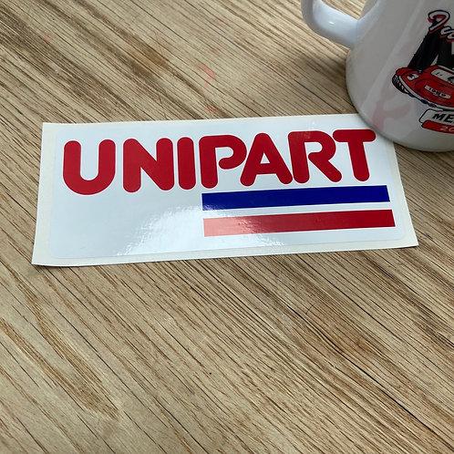 Unipart Sticker