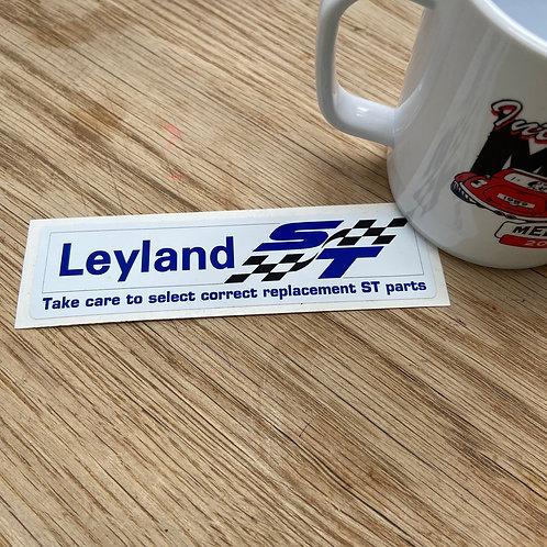 Leyland ST Sticker