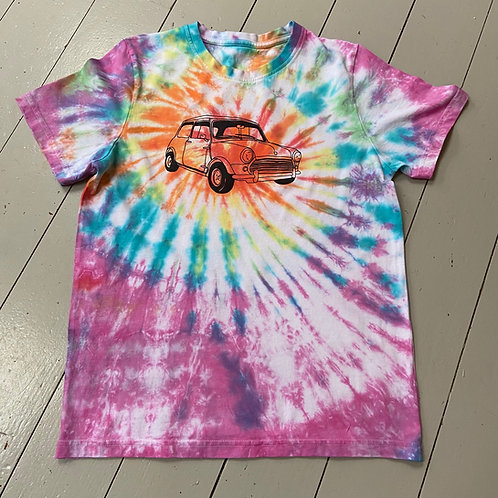 Childs tie dyed T-shirt age 13-14