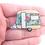 Thumbnail: Floral Retro Caravan Brooch