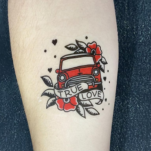 True Love Classic Mini Temporary Tattoo!