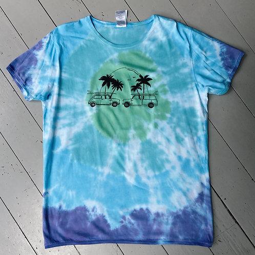 Tie dyeT-shirt unisex XL
