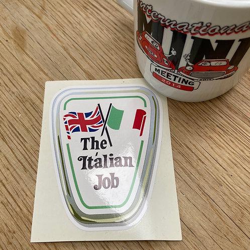 The Italian Job Sticker