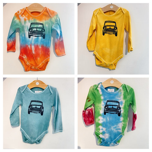 Tie dye Baby body suit 9-12 months
