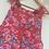 Thumbnail: Handmade Vintage Fabric Dungaree Shorts
