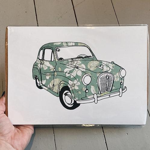 A4 Austin print.