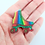 Thumbnail: Rainbow Roller Skate Boot Brooch