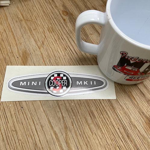 Cooper S MKII Sticker