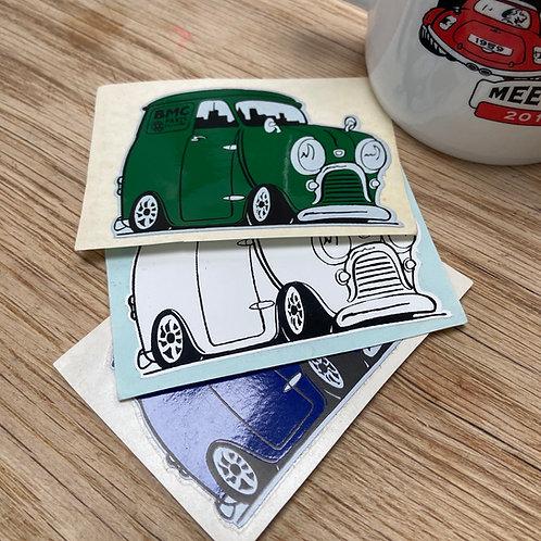 Mini Van Sticker