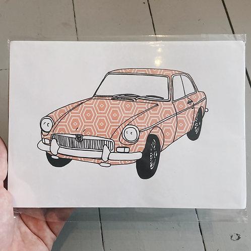 A4 MG B print.