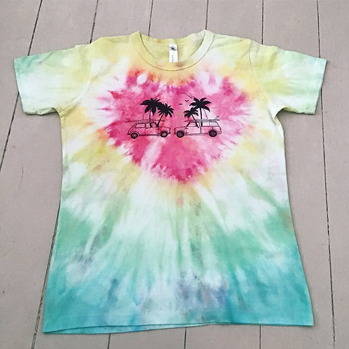 Tie dyed T-shirt womens fit XXL