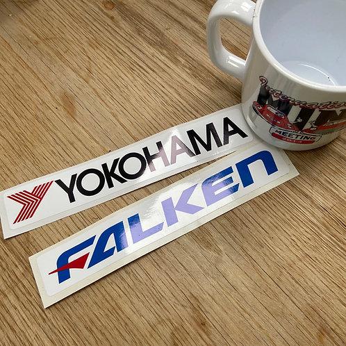 Yokohama, Falken Stickers