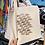Thumbnail: Calico Cotton Tote Bag