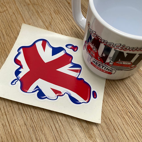 Union Jack Splat Sticker