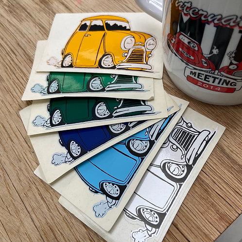 Cartoon Mini Sticker