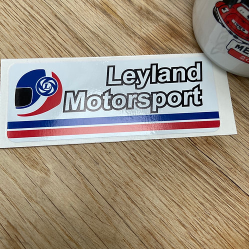 Leyland Motorsport Sticker