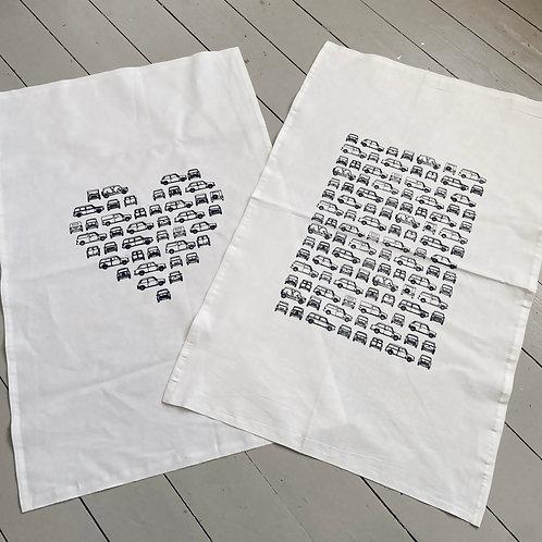 Tea towel mini print