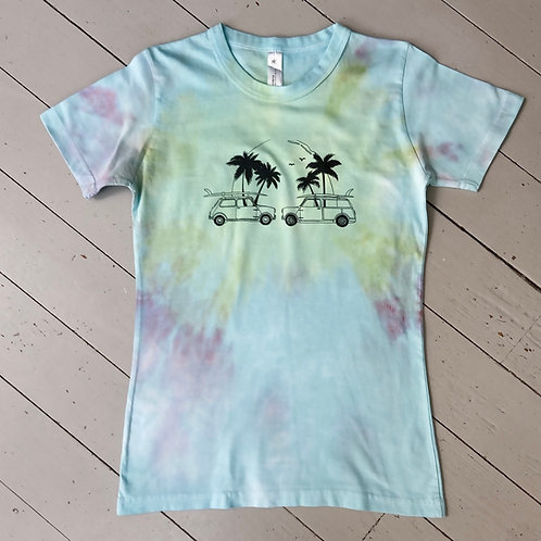 Tie dyed T-shirt womens fit Large