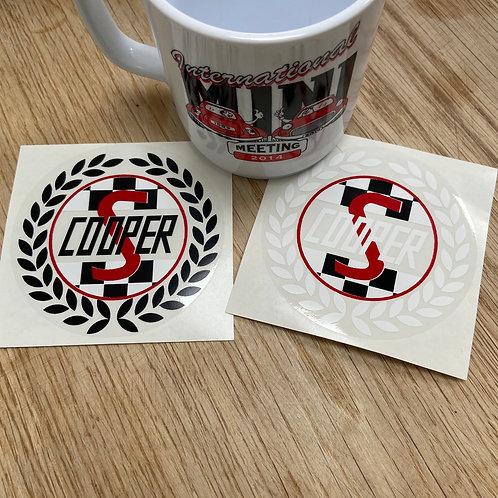 Cooper S Sticker