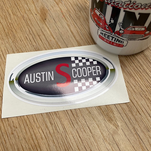 Austin Cooper S Sticker