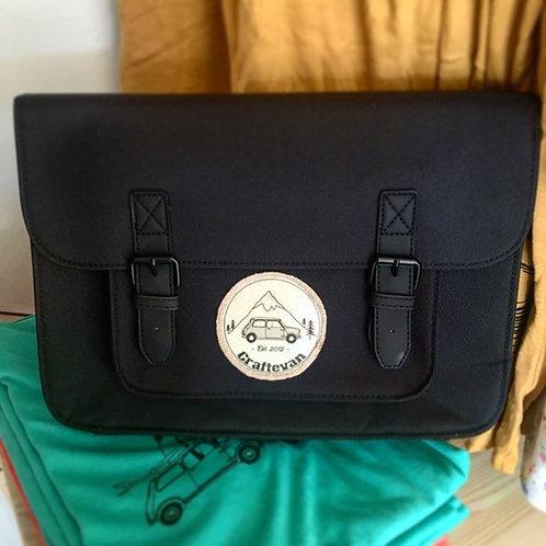 Craftevan Mini Cooper Satchel, All Black