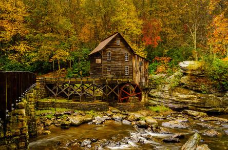 Autumn At Glade Creek