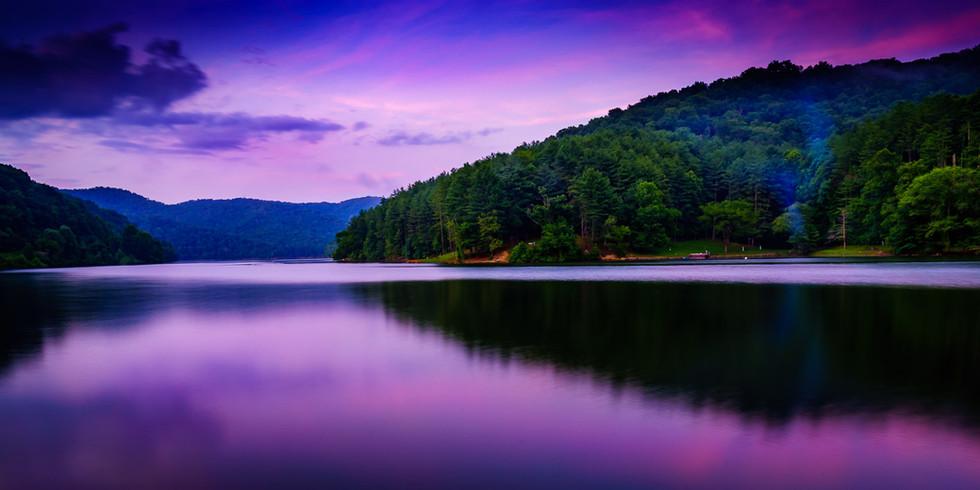 Nightfall Dewey Lake