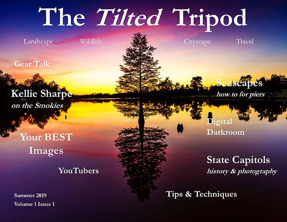 Tilted Tripod Ezine v1 issue 1 Cover JPE