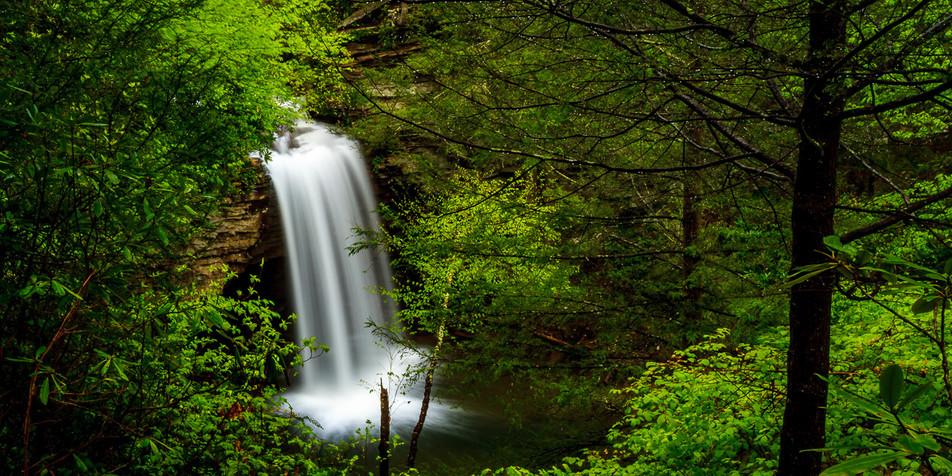First Falls On Little Stoney Creek