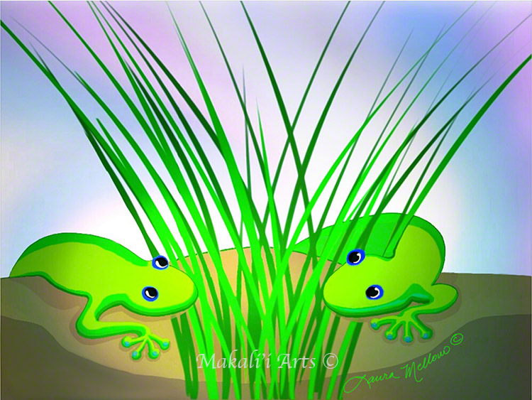 Mo'o Dawn Meeting in the Grass