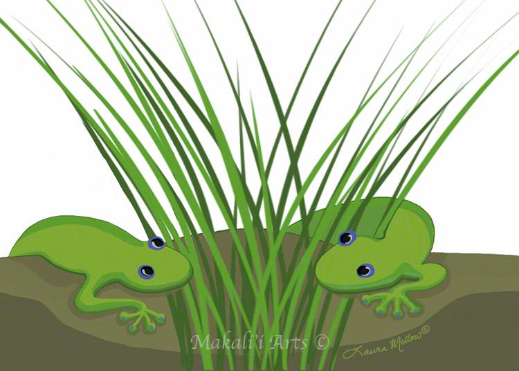 Mo'o in the Grass