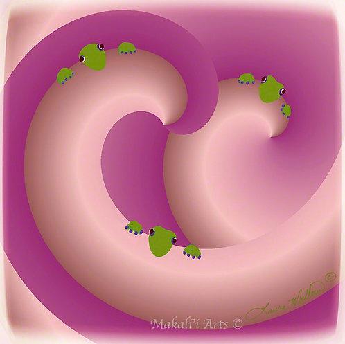 Pink Swirl Mo'os