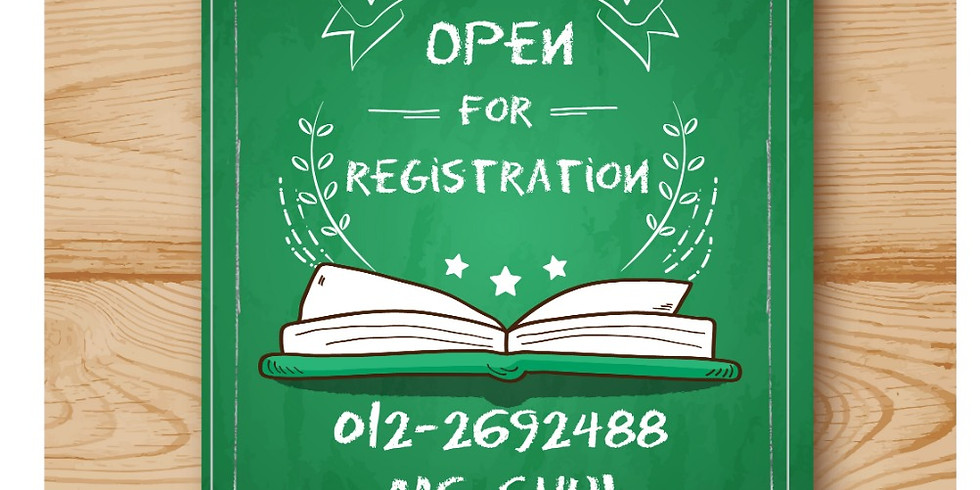 2021-2022 Registration Starts (age 1-6) - online consultation is available.  (1)