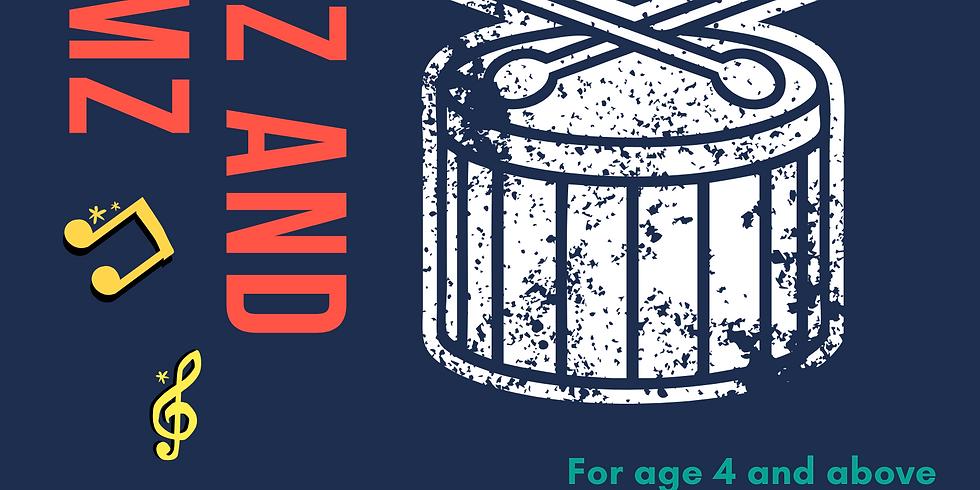 Drumz and Thrumz - Trial Pre-booking