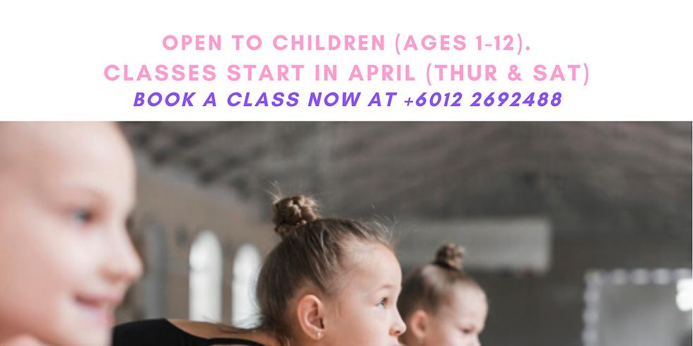 New Junior Ballet & Gymrama Class