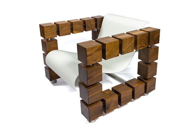PLATONIC Lounge Chair by Francis Assadi