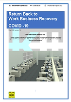 Return Back to Work Business Recovery Pl