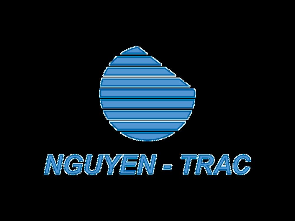 Logo màu kèm chử Nguyễn Trắc.