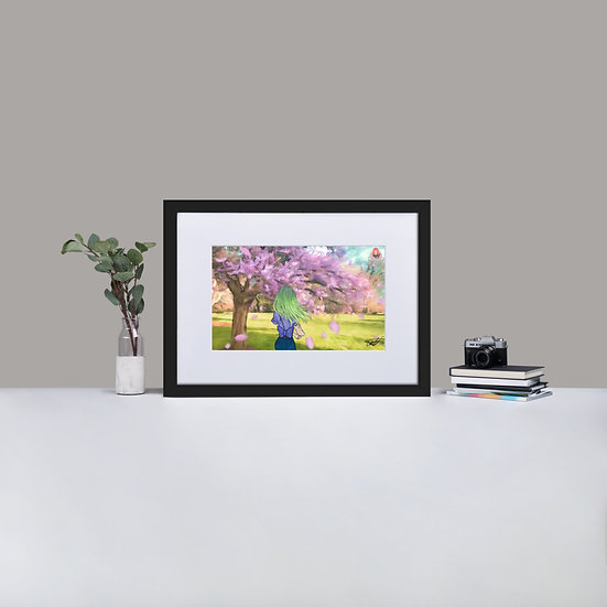 Location Project Matte Paper Framed Print