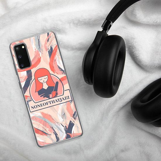 NONEOFTHATJAZZ Logo Samsung Case