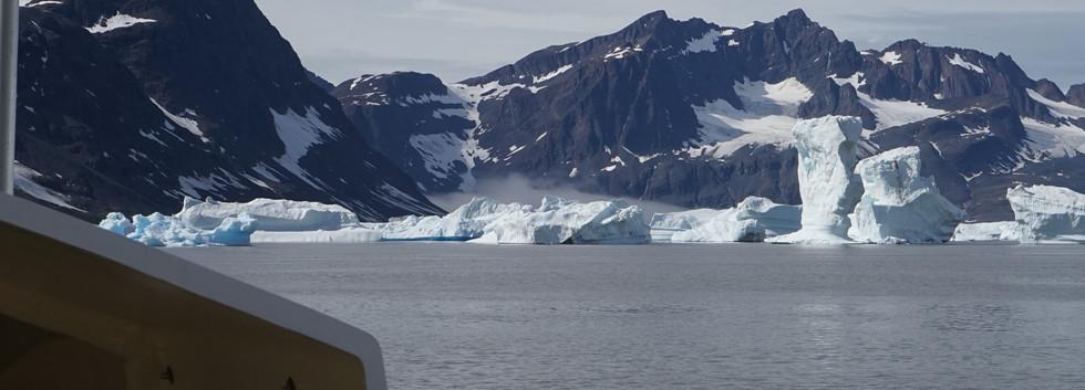 Wall of Icebergs
