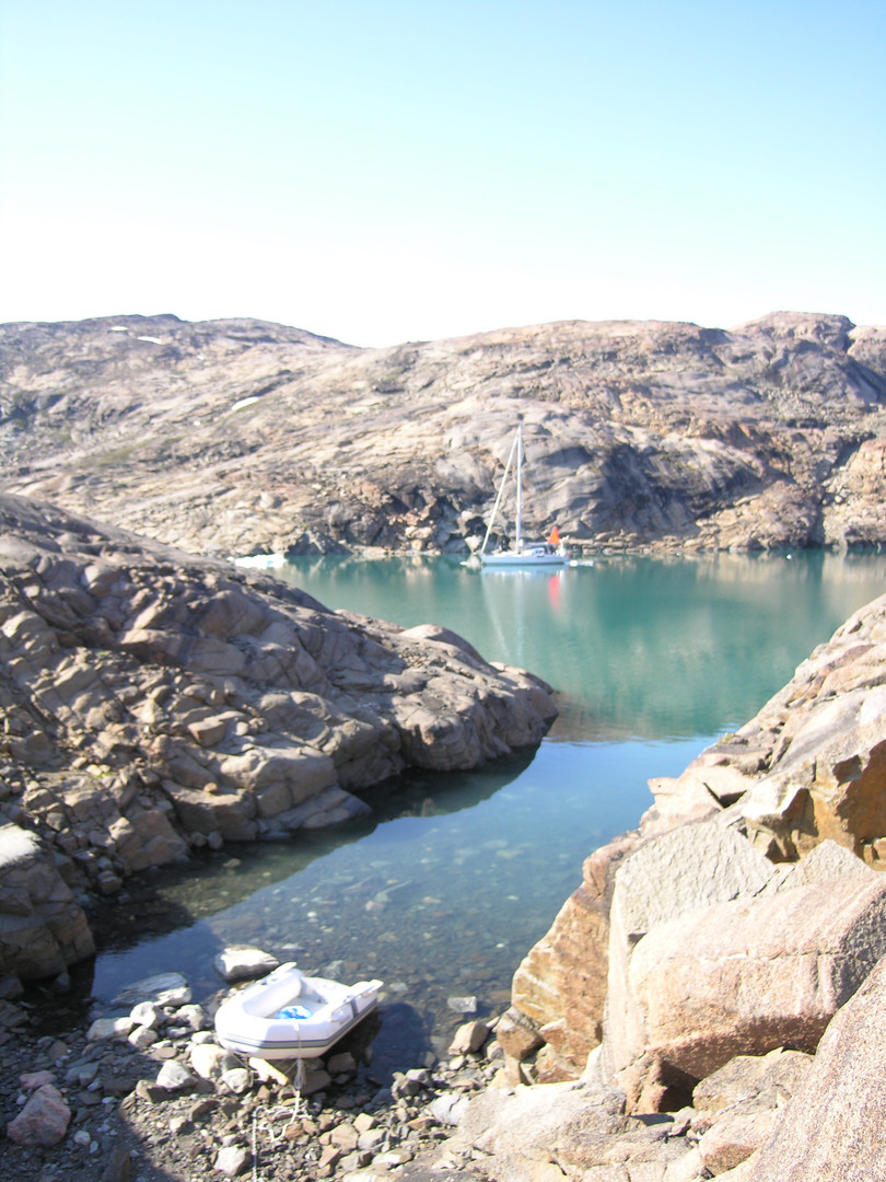 small cove sailboat greenland east